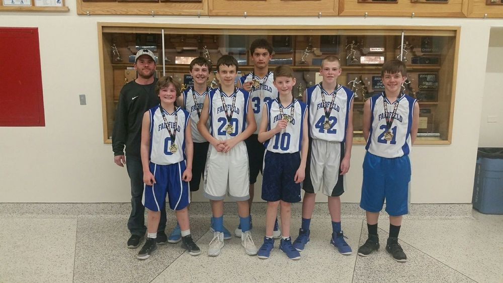 7th Grade Eagle Team wins Havre Hoopfest