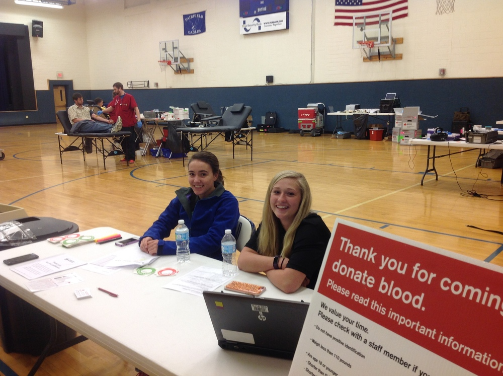 Fairfield Schools Hosts Community Blood Drive!