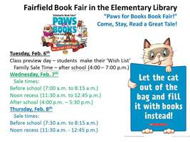 Fairfield Book Fair!!!