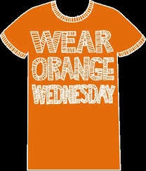 Wear Orange Wednesday!