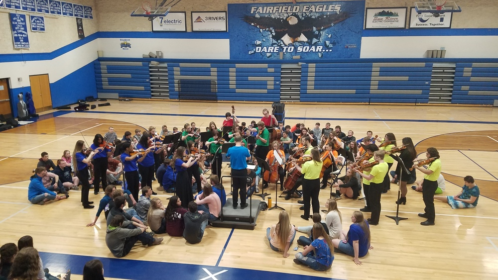 THANKS TO THE CMR ORCHESTRA!