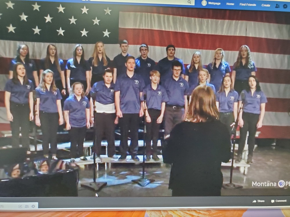 Fairfield Students perform for Montana PBS!