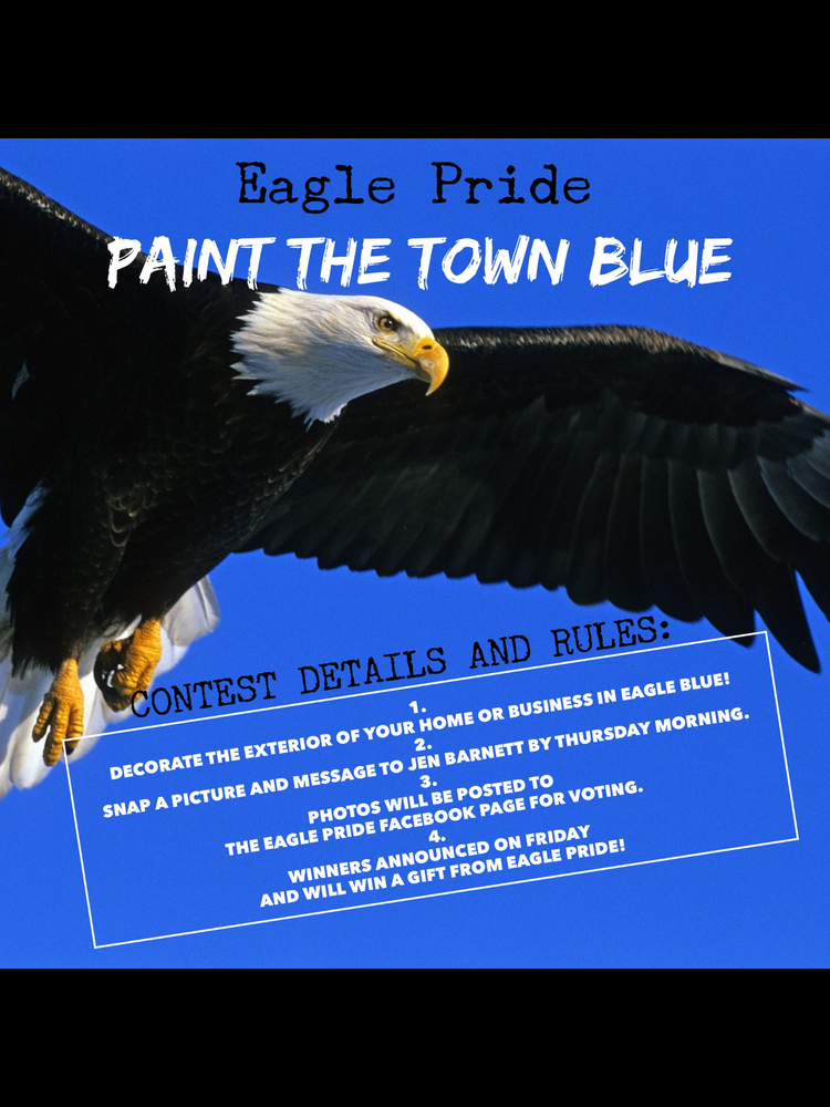 PAINT THE TOWN BLUE!!!
