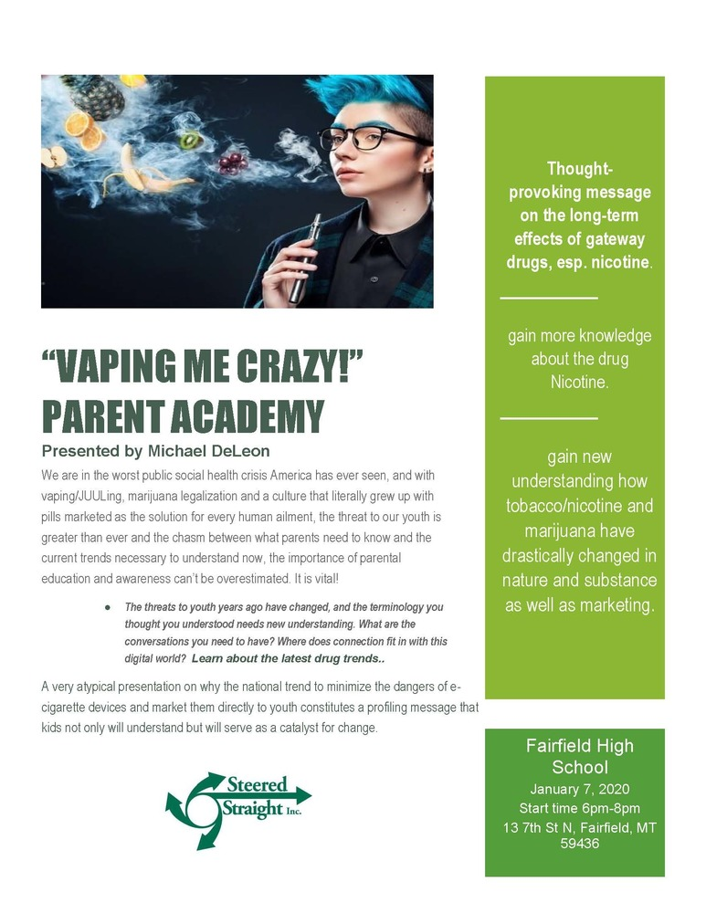 Vaping Presentation for Teton County
