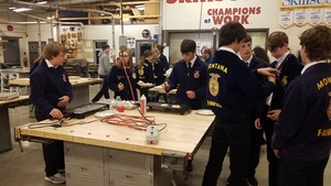 The Fairfield FFA Chapter Making Breakfast!