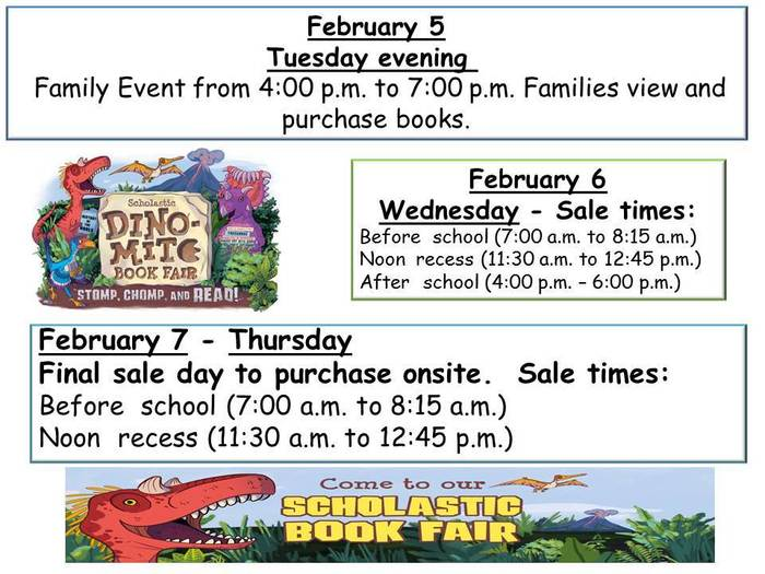 THE BOOK FAIR IS NEAR!!!