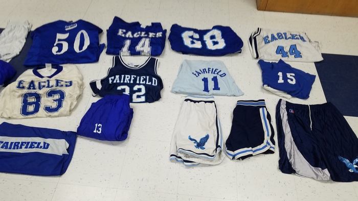 old uniforms!