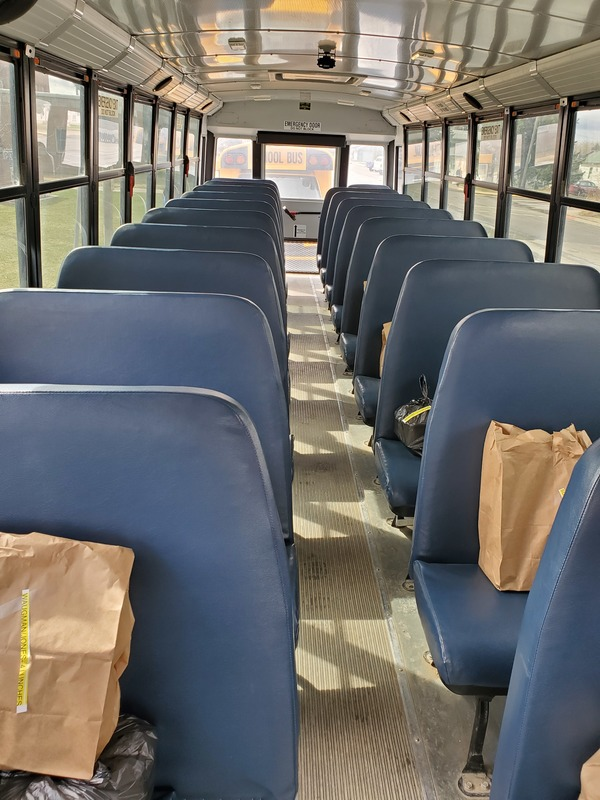Lunch in each seat